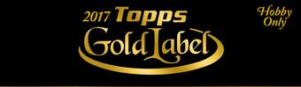 2017 Topps Gold Label Baseball Hobby 16-Box Case (Presell)