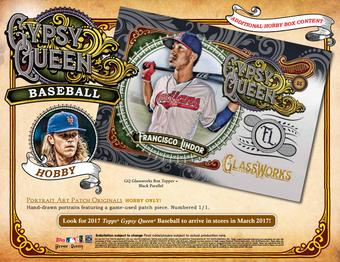 2017 Topps Gypsy Queen Baseball Glassworks Topper Pack