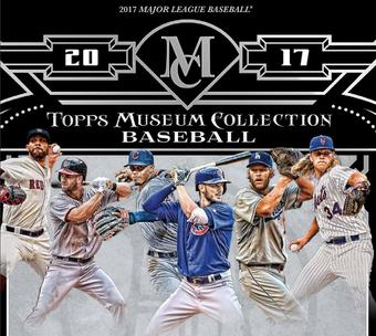 2017 Topps Museum Collection Baseball Hobby 12-Box Case (Presell)