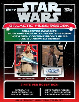 Star Wars Galactic Files: Reborn Hobby Box (Topps 2017) (Presell)