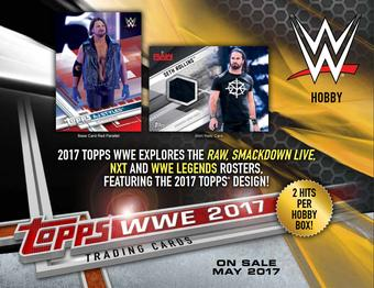 2017 Topps WWE Wrestling Hobby 8-Box Case (due May)