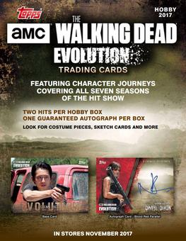 The Walking Dead Evolution Hobby Box (Topps 2017) (Presell)