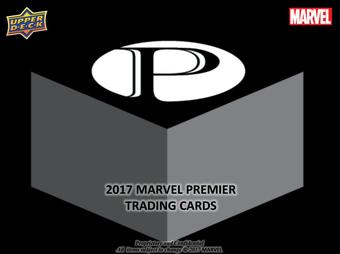 Marvel Premier Trading Cards 6-Box Case (Upper Deck 2017) (Presell)