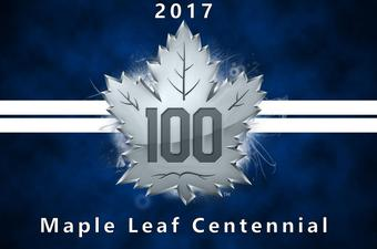 2017 Upper Deck Toronto Maple Leafs Centennial Hockey 8-Pack Box (Presell)
