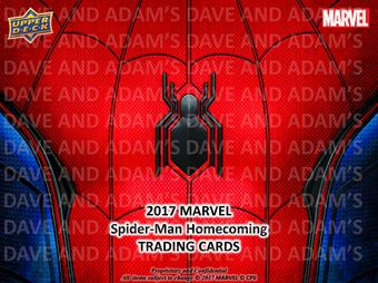 Marvel Spider-Man Homecoming Hobby Box (Upper Deck 2017) (Presell)