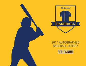 2017 Hit Parade Autographed Baseball Jersey Hobby Box - Series 9 - Mike Trout & Carlos Correa!!!!!