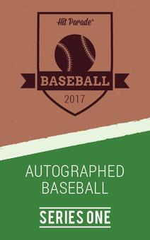 2017 Autographed Baseball Hit Parade Hobby Box - Series 1 -  Kris Bryant & Mike Trout!!!! (Presell)