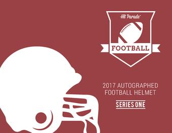 2017 Hit Parade Autographed Full Size Football Helmet Hobby Box - Series 1 - Aaron Rodgers!! (Presell)