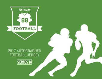 2017 Hit Parade Autographed Football Jersey Hobby Box - Series - 18 - Aaron Rodgers and Russell Wilson!!