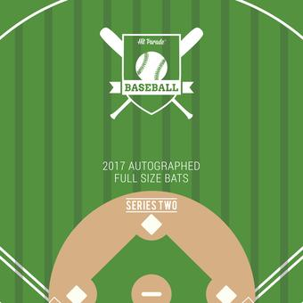2017 Autographed Baseball Bat Hit Parade Hobby Box - Series 1 - Derek Jeter, Anthony Rizzo, & Michael Jordan S