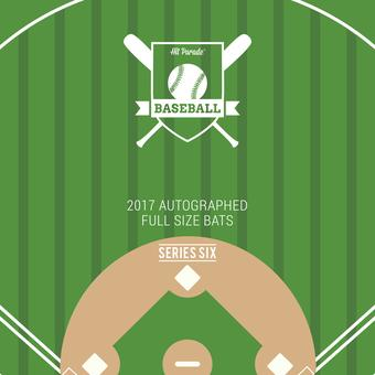 2017 Hit Parade Autographed Baseball Bat Hobby Box - Series 6 - Anthony Rizzo, Buster Posey, Cal Ripkin Jr!!