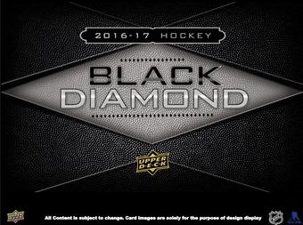 2016/17 Upper Deck Black Diamond Hockey Hobby 5-Box Case (Presell)