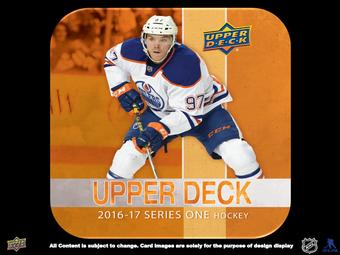 2016/17 Upper Deck Series 1 Hockey Hobby Box (Presell)