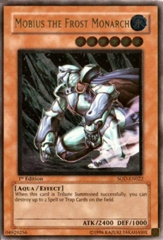 Yu-Gi-Oh Soul of the Duelist 1st Ed. Mobius the Frost Monarch Ultimate Rare (022