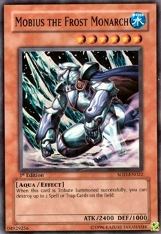 Yu-Gi-Oh Soul of the Duelist 1st Edition Mobius the Frost Monarch Super Rare