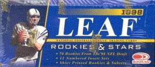 1998 Leaf Rookies & Stars Football Hobby Box