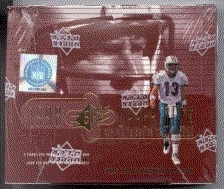 1998 Upper Deck SPx Finite Series 2 Football Hobby Box