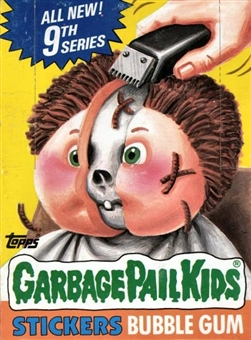 Garbage Pail Kids Series 9 Wax Box (1985-88 Topps)