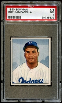 1950 Bowman Baseball #75 Roy Campanella PSA 7 (NM) *8839