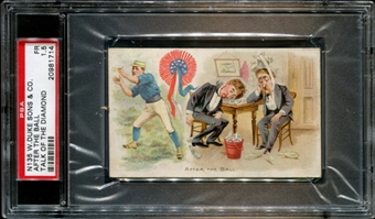 1893 N135 W. Duke Sons & Co. (After The Ball) Talk Of The Diamond PSA 1.5 (FR) *1714
