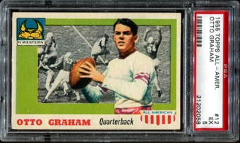1955 Topps All American Football #12 Otto Graham PSA 5 (EX) *2058