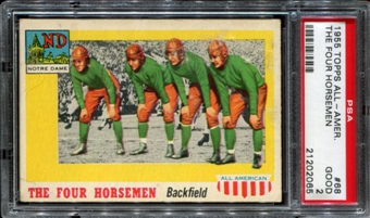 1955 Topps All American Football #68 The Four Horsemen PSA 2 (GOOD) *2065