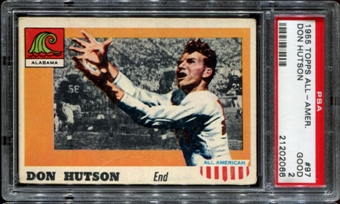 1955 Topps All American Football #97 Don Hutson Rookie PSA 2 (GOOD) *2066