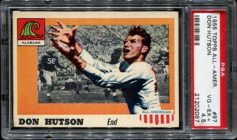 1955 Topps All American Football #97 Don Hutson Rookie PSA 4.5 (VG-EX+) *2067