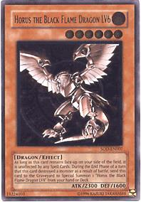 Yu-Gi-Oh Soul of the Duelist Single Horus Black Flame Dragon LV6 Ultimate Rare
