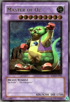 Yu-Gi-Oh Soul of the Duelist Single Master of Oz Ultimate Rare (035)