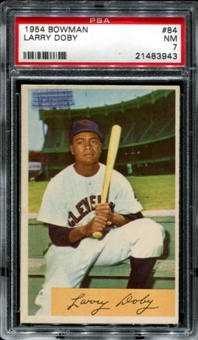 1954 Bowman Baseball #84 Larry Doby PSA 7 (NM) *3943