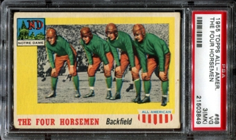 1955 Topps All American Football #68 The Four Horsemen PSA 3 (VG) (MK) *3849
