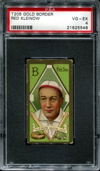 1911 T205 Gold Border Cycle Red Kleinow PSA 4 (VG-EX) *5548