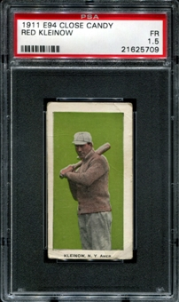 1911 E94 Close Candy Red Kleinow PSA 1.5 (FR) *5709