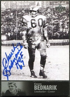 1997 Upper Deck Legends Autographs #AL22 Chuck Bednarik