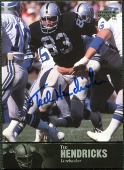 1997 Upper Deck Legends Autographs #AL38 Ted Hendricks