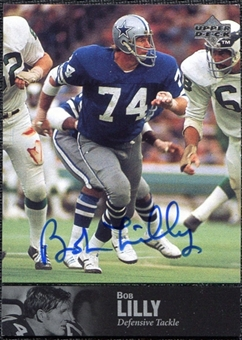 1997 Upper Deck Legends Autographs #AL46 Bob Lilly