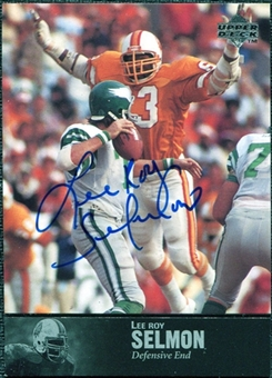 1997 Upper Deck Legends Autographs #AL61 Lee Roy Selmon