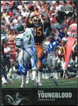1997 Upper Deck Legends Autographs #AL73 Jack Youngblood