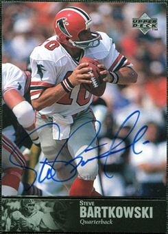 1997 Upper Deck Legends Autographs #AL77 Steve Bartkowski