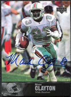 1997 Upper Deck Legends Autographs #AL90 Mark Clayton