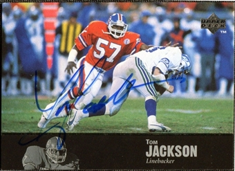 1997 Upper Deck Legends Autographs #AL119 Tom Jackson