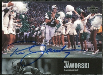 1997 Upper Deck Legends Autographs #AL120 Ron Jaworski