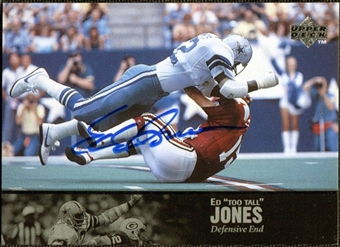 1997 Upper Deck Legends Autographs #AL123 Ed 'Too Tall' Jones