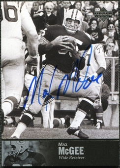 1997 Upper Deck Legends Autographs #AL137 Max McGee