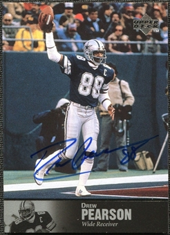 1997 Upper Deck Legends Autographs #AL153 Drew Pearson