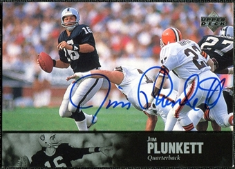 1997 Upper Deck Legends Autographs #AL155 Jim Plunkett