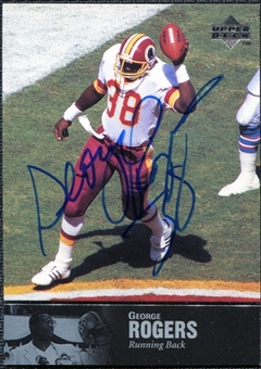 1997 Upper Deck Legends Autographs #AL159 George Rogers