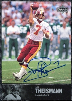 1997 Upper Deck Legends Autographs #AL174 Joe Theismann