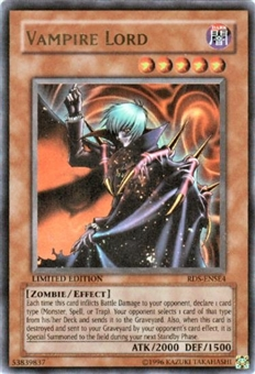 Yu-Gi-Oh Rise of Destiny Single Vampire Lord Ultra Rare (RDS-ENSE4)